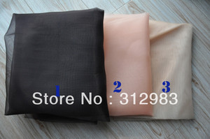 Image 1 - 1 Yard  Mono filament 3 Size net foundation for wig making toupee mono lace wig wig hair accessories accessory weaving tools DIY