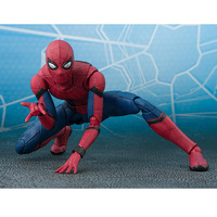The Avengers Spider Man Homecoming Action Figure Tamarshii Option Act Wall SHFiguarts Toy 14cm