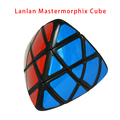 2016 New Lanlan Mastermorphix Cube 3x3x3 Professional Magic Cube Zongzi Puzzle Speed Classic Toy Learning Education Special Toys