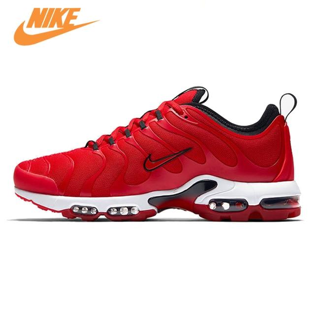 Nike Air Max 95 Erkekler Eğitmenler Ayakkabı Siyah Kırmızı Nefes