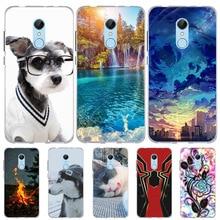For Xiaomi Redmi 5 Case Cat Animal Bags Silicone Cover Funda Xiomi Xioami Redmi5 Phone Cases