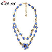 Blue Classic Turkey Jewelry Online Shopping Fashion Tide Fashion Necklaces For Women 2015 Factory Wholesale