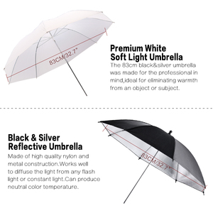 Image 2 - SH 플래시 ShoeMount 회전 소프트 우산 키트 사진 라이트 스탠드 및 홀더 타입 B