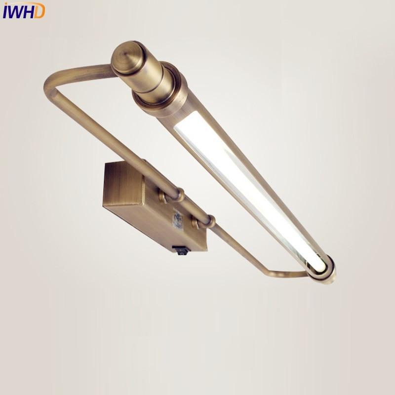 Exceptional IWHD Europa LED Badezimmerspiegel Licht Kommode Wasserdicht Vintage  Wandleuchten LED Bad Beleuchtung Arandela Wandleuchte Spiegelleuchte In  IWHD Europa LED ...