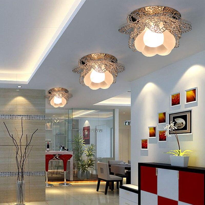 € 16.11 32% de réduction|Supérieure 3 wLED éclairage lustre lampe pour  salon chambre maison classique moderne couloir lumière plafond cristal ...