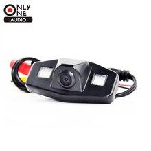 SÓLO UN AUDIO de 170 grados Lente Gran Angular coche Trasero cámara de Ayuda al aparcamiento Cámara De visión con luz led para Accord 2008