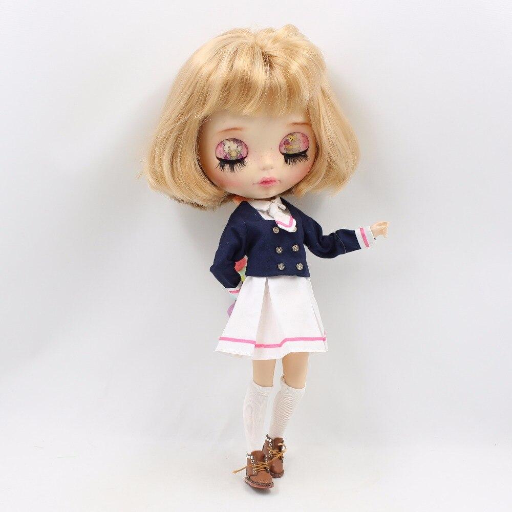 Neo Blythe Doll School Uniform Dress 5