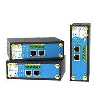 Промышленный сотовый маршрутизатор для многофункциональных M2M/IoT приложений 4G LTE RS232/RS485