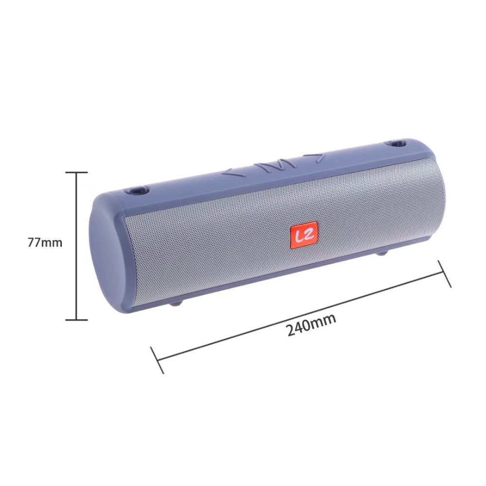 Portable wireless bluetooth speaker 10W Boombox outdoor sound box Waterproof Computer speaker FM Radio column for xiaomi phone in Portable Speakers from Consumer Electronics