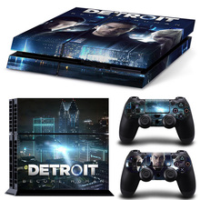 Detroit Become Human New Coming Design for Sony PS4 Console
