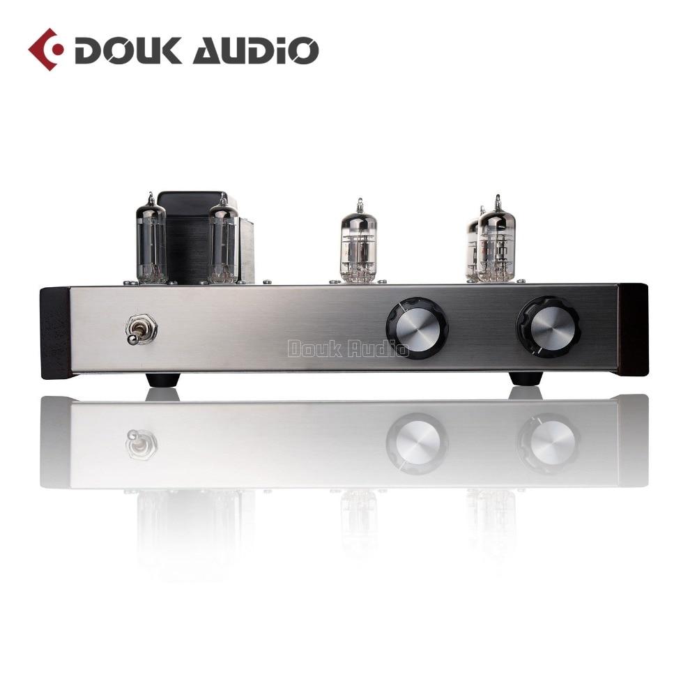 Douk Audio 12AX7 12AU7 Tube Preamp HiFi Pre-Amplifier Shigeru Wada Japan Circuit nobsound hifi vacuum 6z4 12au7 tube pre amplifier audio preamp board shigeru wada japan circuit