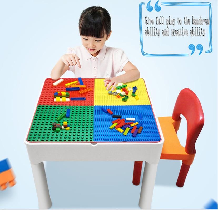 Table multifonctionnelle de table de blocs denfants, blocs de rangement de table de bureauTable multifonctionnelle de table de blocs denfants, blocs de rangement de table de bureau