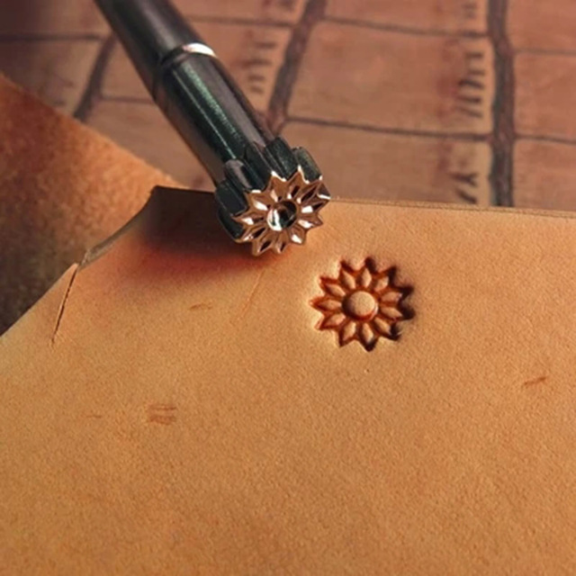 Leather Working Saddle Making Tools Carving Leather Craft Stamps 1pcs Stamping Embossing Mold