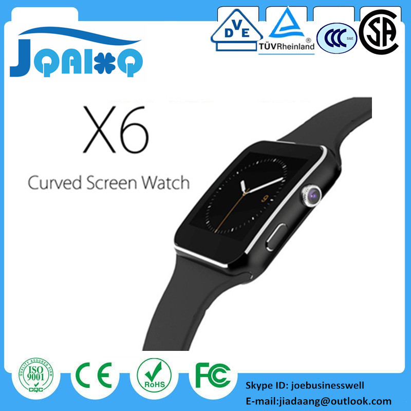 Bluetooth Smart Watch New 2018 X6 Smartwatch Sport Watch For Apple iPhone Android Phone With Camera FM Support SIM Card