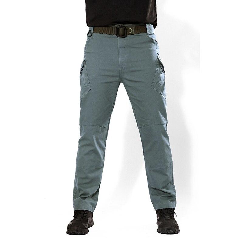 TACVASEN Men Brand Tactical Pants Multi Pockets Cargo Pants Military Combat Cotton Pant City SWAT Trousers Men's Casual Clothes