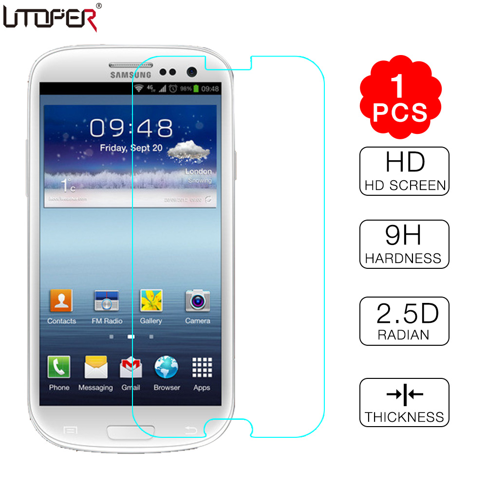 Lcd screen protector guard for samsung galaxy s3 i9300 galaxy s iii - For Galaxy S3 Tempered Glass Screen Protector For Samsung Galaxy S3 Siii I9300 Duos I9300i Neo
