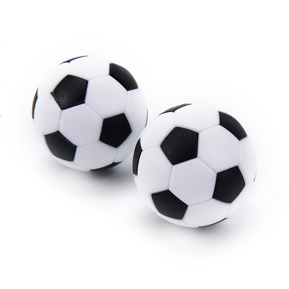 4 Pcs Foosball Table Football  Round Indoor Games Plastic Soccer Ball Football Fussball Soccerball Sport Gifts 32mm