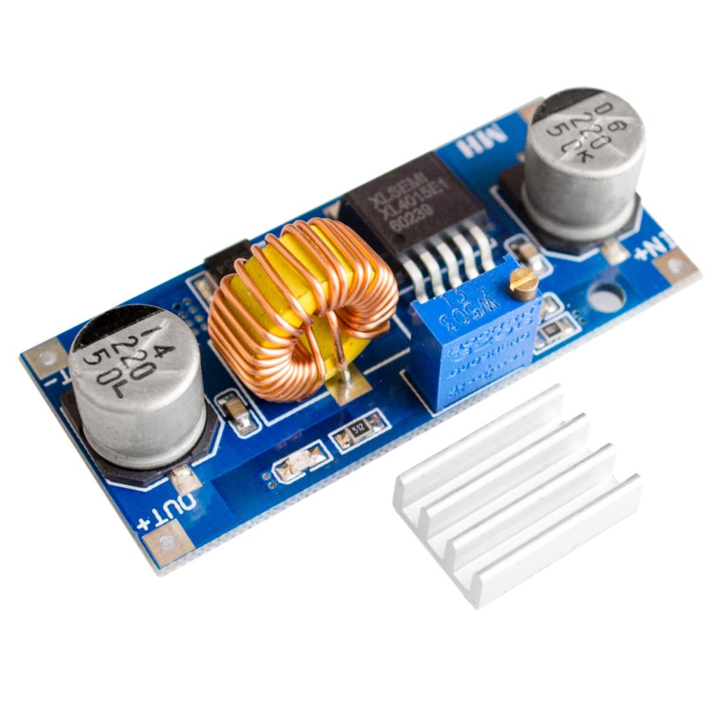 AU  XL4015 5A DC-DC Adjustable Buck Converter Step Down Power Supply Module