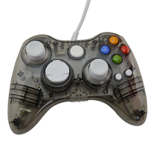 xunbeifang 10pcs Wired PC USB Controller gamepad joystick for xbox360 Game Controller LED Light for Xbox 360 Black