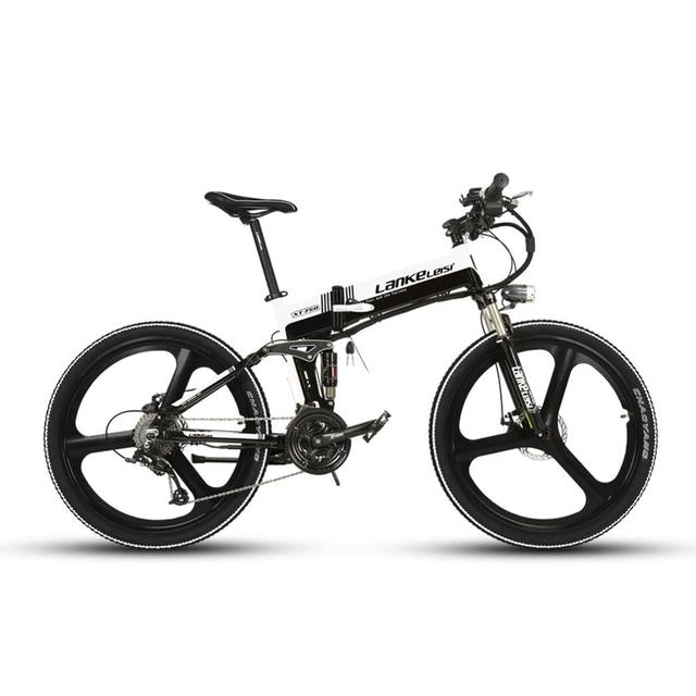 Cyrusher XT750 Складная Смарт Электрический горный велосипед полный Suspenion 250 Вт 36 В 12.8A в Батарея 17*26 дюймов 27 Скорость велосипед