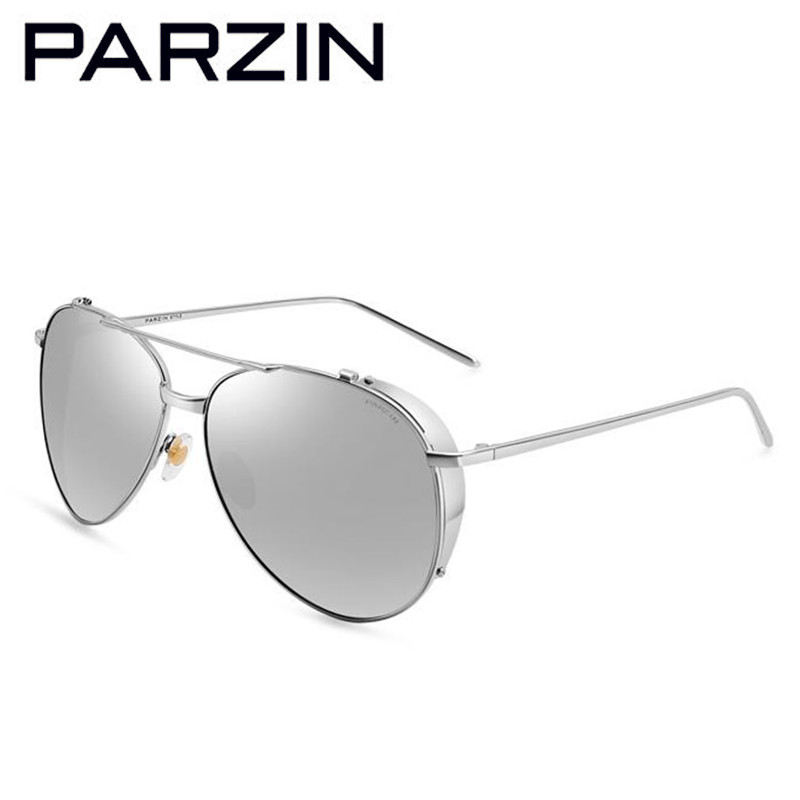 7726dbaebc Parzin Polarized Sunglasses Women Men Vintage Metal Female Sun Glasses  Colorful Film Ladies Shades Accessories With Case 9662-in Sunglasses from  Apparel ...