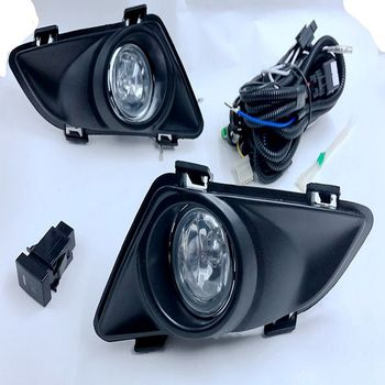 Case for Mazda 6 2003 2004 2005 fog light halogen fog lamp H11 12V 55W  with wiring kit and switch shipping free