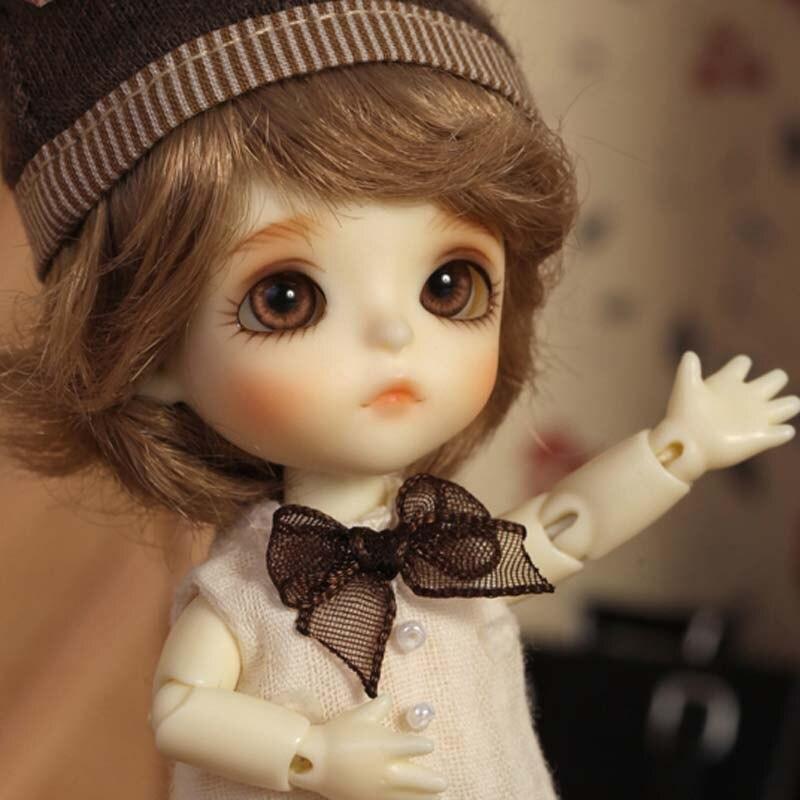 2018 New Arrival High Quality 1/12 BJD SD T.haru Girl Boy Soom Resin DOD Doll  Include Eyes
