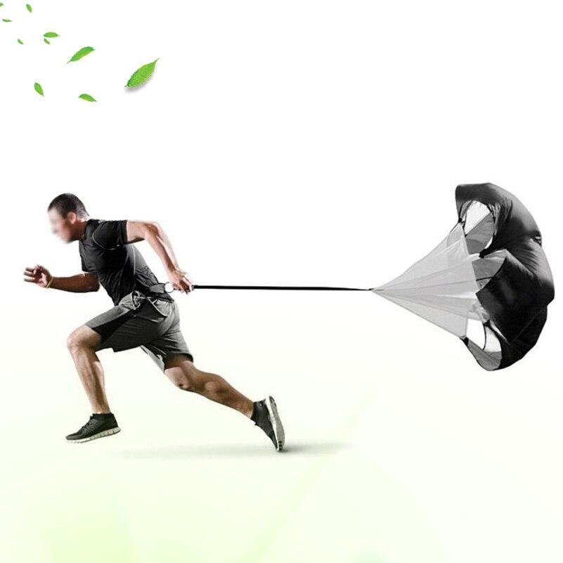 145cm * 145cm Oksigen Müqavimət Təlim Paraşütü Çüt Futbol - Fitness və bodibildinq - Fotoqrafiya 2