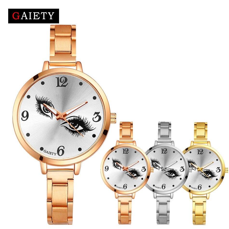 Women Watch Fashion Round Case Shape Best Selling Clock Gift Chain Analog Quartz Round Wrist Watch Watches