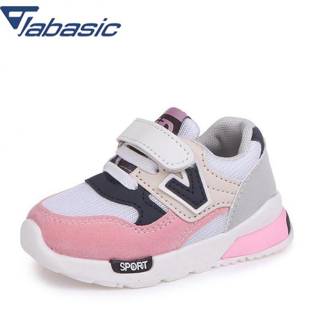 876cdbd8e22ce Jabasic Baby Toddler Shoes Net Breathable Pink Leisure Sports Running Shoes  For Girls White Shoes For Boys Chaussure Enfant