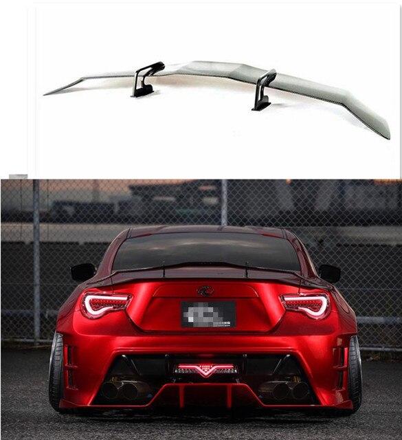 GT86 FT86 BRZ Rear Spoiler //Swan Neck KL Middle style Carbon Fiber ...