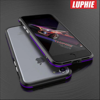 Luphie Mobile Phone Ultra Thin Metal Aluminum Bumper Frame Case Cover For IPhone 7 7 Plus