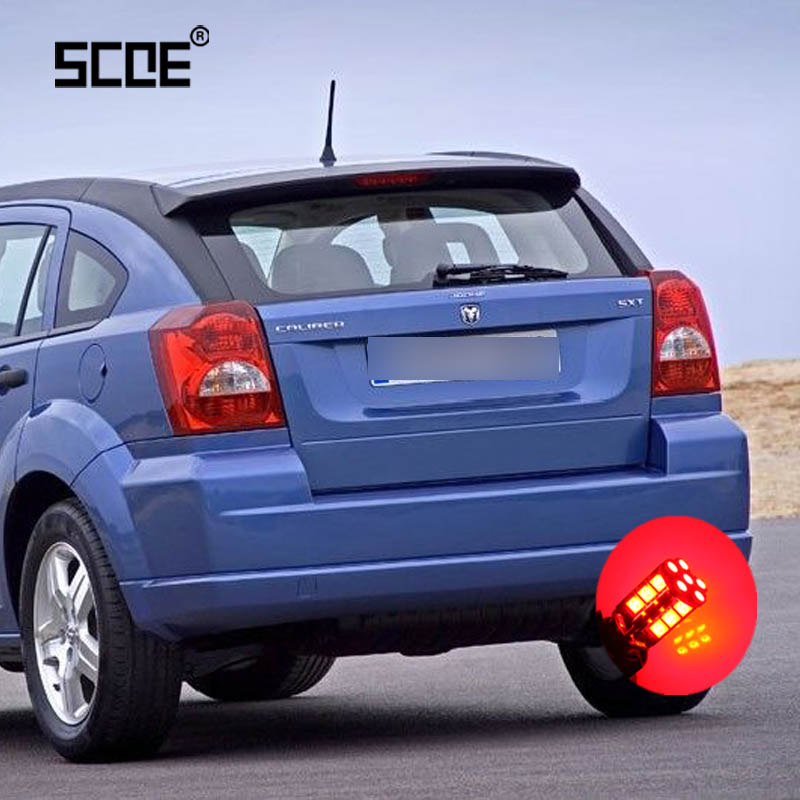 For Dodge Caliber Journey Viper SCOE 2 X Super Bright Brake Lamp Stop Light Bulb Car Styling