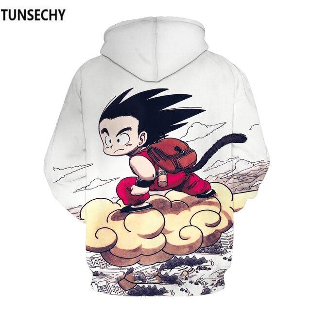TUNSECHY Dragonball hoodies for men and women with dragonball sun wukong 3D digital printing fashion Hoodies Sweatshirts 5