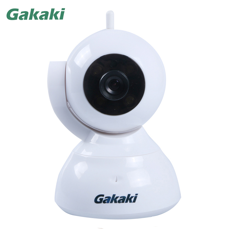 Gakaki Indoor HD 960P WiFi Video Surveillance Monitoring Security Wireless IP Camera with Two Way Audio IR Night Vision Pan Tilt
