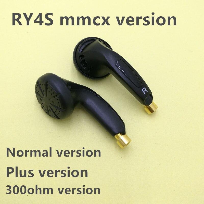 RY4S mmcx interface  earbud 15mm music  quality sound HIFI Earphone (MX500 style earphone) 3.5mm 300ohm