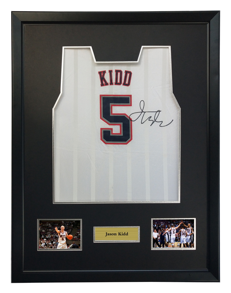 Jason Kidd signed autographed basketball shirt jersey come with Sa ...
