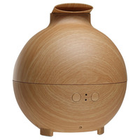 500ml Wood Grain Cool Mist Humidifier Ultrasonic Aroma Essential Oil Diffuser For Home Office Bedroom Living