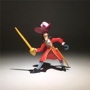 Image 5 - 2 יחידות\חבילה 9 cm שקע ארץ לעולם לא פיראטים נוורלנד פיטר פאן פעולה איור צעצועי אוסף צעצוע