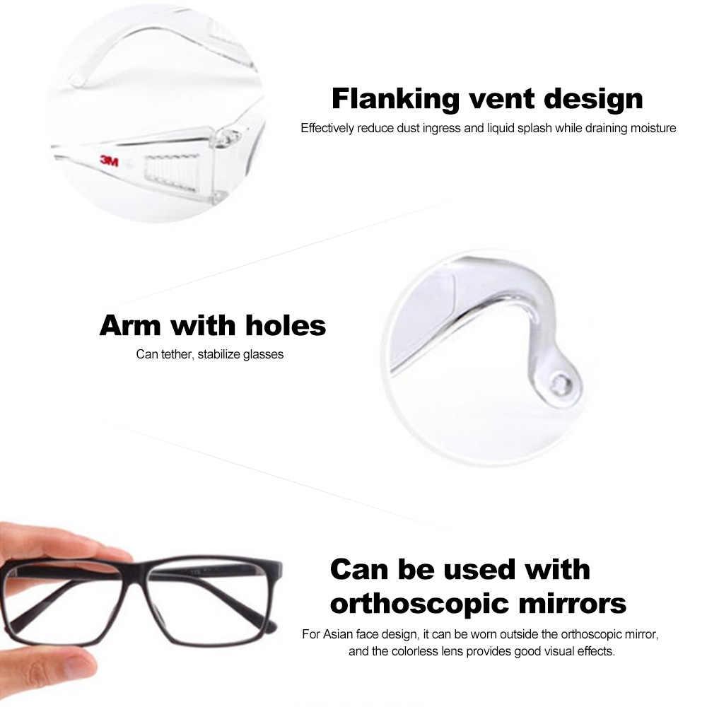 3 M/1611HC السلامة نظارات المهنية نظارات نظارات الأشعة فوق البنفسجية حماية مكافحة الغبار يندبروف مكافحة الضباب طلاء العين ارتداء العين حماية
