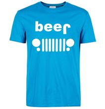 Funny Beer Jeep men's t-shirt