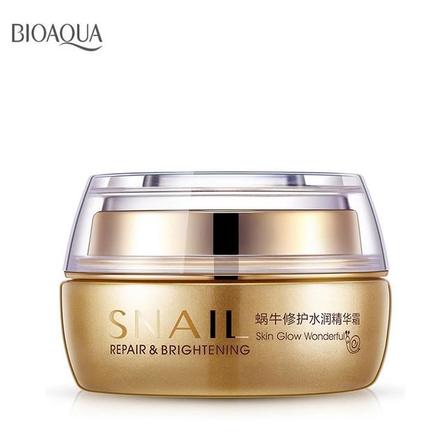 2016 Hot Snail Essence Face Cream Moisturizing Anti-aging Facial Cream Hydrating Anti Wrinkle Skin Care Whitening Day Cream 50g