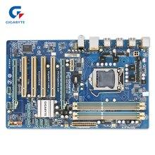 Placa Madre de Escritorio Gigabyte GA-P55-S3 Original Utilizado P55-S3 H55 LGA 1156 DDR3 16G ATX i3 i5 i7