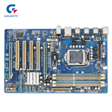 Gigabyte GA-P55-S3 оригинальный использоваться для настольных ПК P55-S3 P55 LGA 1156 i3 i5 i7 DDR3 16 г ATX