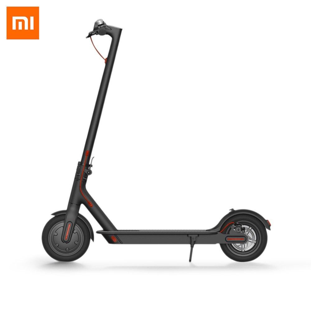 Originale Xiaomi M365 Scooter Elettrico Intelligente Pieghevole Elettrico longboard Hoverboard Skateboard 2 Ruote Ultralight 30 km di distanza in Miglia