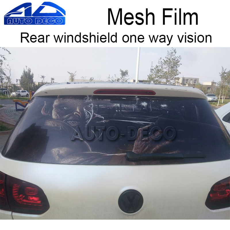 New arrival car rear window film car rear windshield tint for 1 way window tint