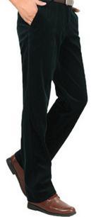 Мужские брюки Spirng, большие размеры, повседневные, на молнии, фланелевые, прямой максимальной длины, мужские зимние свободные брюки на молнии - Цвет: 4