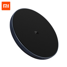 Original Xiaomi Qi Wireless Charger 10W Max Fast Charging Pad for iPhone X XR 8 Samsung S9/S9+ S8 Note 9