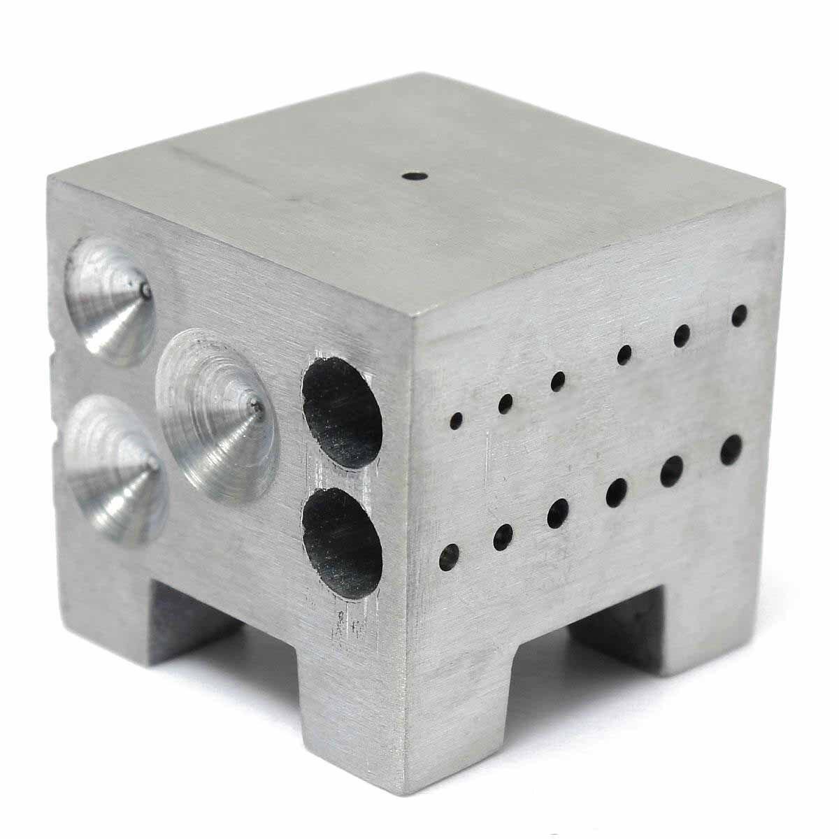 Horloger En alliage D'aluminium Dapping Doming Bloc Montre Jewelers Pièces De Réparation Porte-Outil