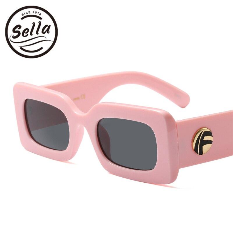 2ba04e0e426 Sella 2018 New Fashion Women Men Simple Narrow Square Sunglasses Trending  Popular Unique Small Rectangle Sun Glasses-in Sunglasses from Apparel  Accessories ...